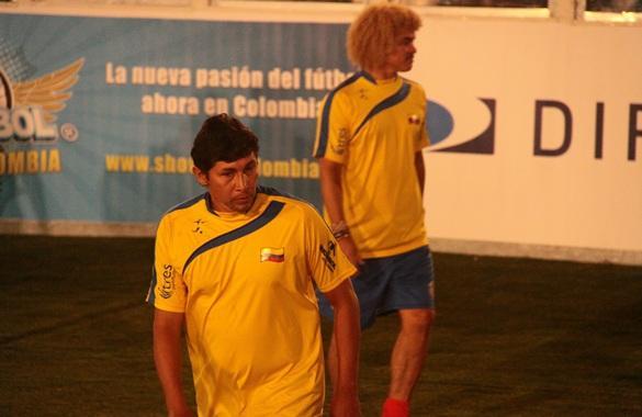 ... Pibe', 'El Tino', Arsitzábal y Diego Osorio juegan por Colombia