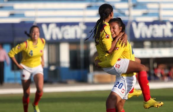 La selección Colombia femenina goleó 5-0 a Venezuela en la Copa América