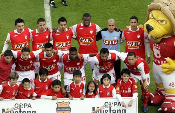 Santa Fe definió la nómina titular para buscar el título de la Copa Colombia