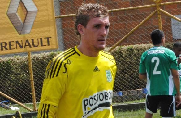 Franco Armani, portero titular de Nacional frente a Caldas