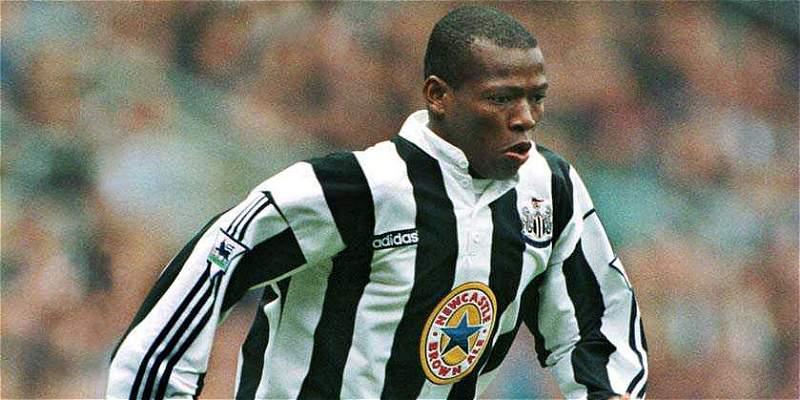 Faustino Asprilla Newcastle 1996