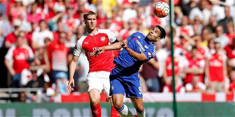 Las mejores fotos del Arsenal vs. Chelsea, en la Community Shield