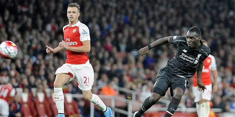 Empate a cero entre Arsenal y Liverpool