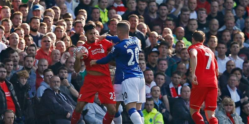En tablas quedó el derbi de Merseyside: Everton 1-1 Liverpool