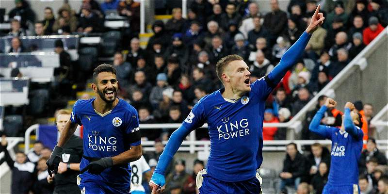 Leicester City, líder en Inglaterra