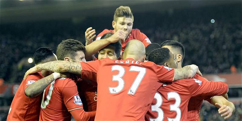 Liverpool derrotó 1-0 a Swansea y ya es sexto en la Premier League