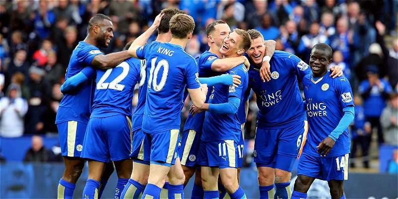 Leicester, muy cerca del título de la Premier: goleó 4-0 a Swnasea