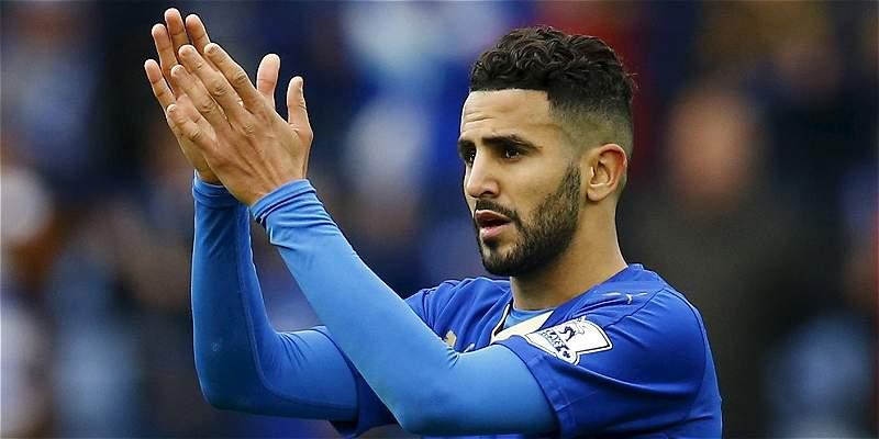 Riyad Mahrez, de Leicester, elegido mejor jugador de la Liga Premier