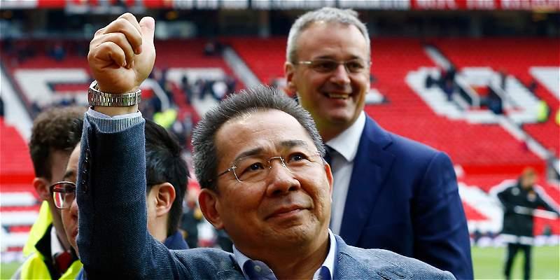 Conozca al magnate tailandés, dueño del Leicester City campeón