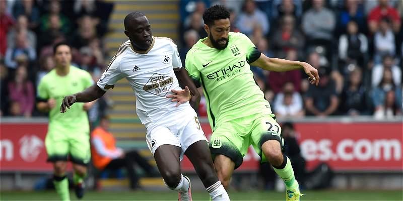 City igualó 1-1 con Swansea y clasificó a la Champions League