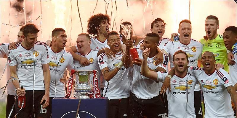 El United se coronó campeón de la FA Cup: 1-2 sobre Crystal Palace