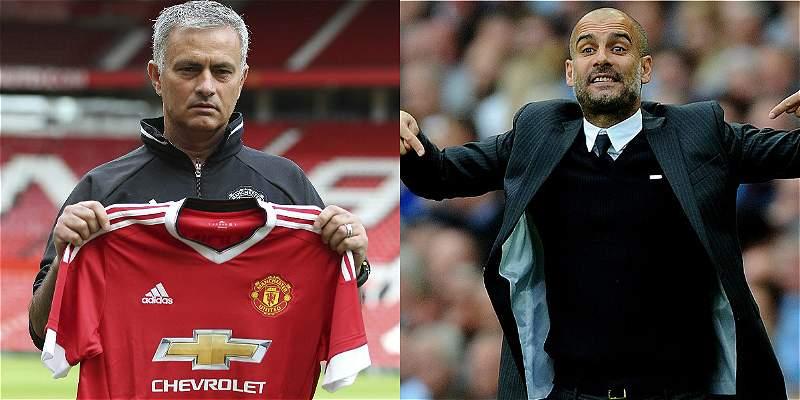 Mourinho vs. Guardiola, el enfrentamiento de la fecha en Inglaterra