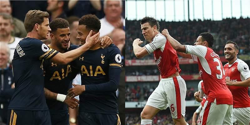Tottenham y Arsenal ganaron y se acercaron a los primeros puestos