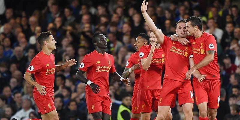 Liverpool se salió con la suya en Stamford Bridge:venció a Chelsea 1-2