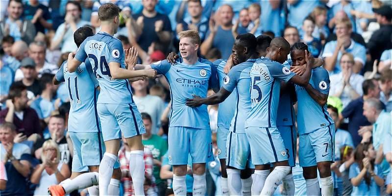 Manchester City solo sabe ganar: goleó 4-0 a Bournemouth
