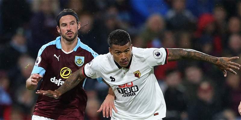 Watford, con Zúñiga todo el segundo tiempo, perdió 2-0 contra Burnley