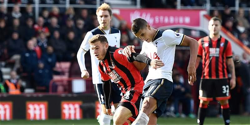 Tottenham Hotspur no pasó del empate 0-0 en su visita a Bournemouth