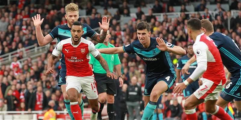 Arsenal se fue en blanco contra Middlesbrough: empataron 0-0