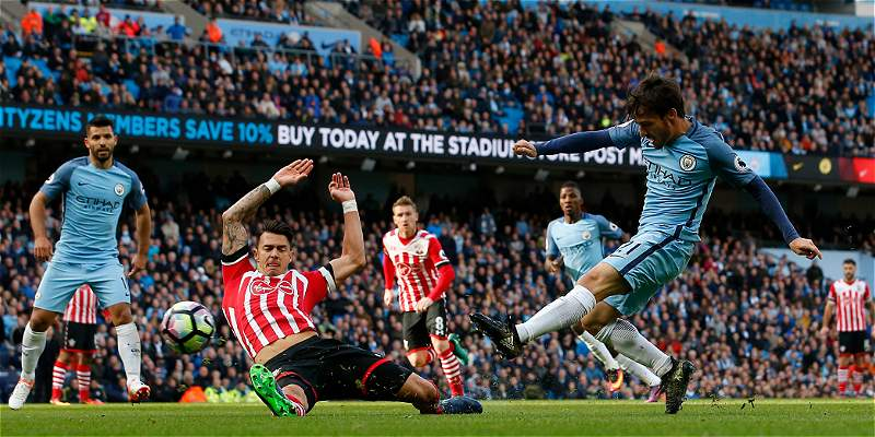 Manchester City alargó su mala racha contra Southampton: empató 1-1