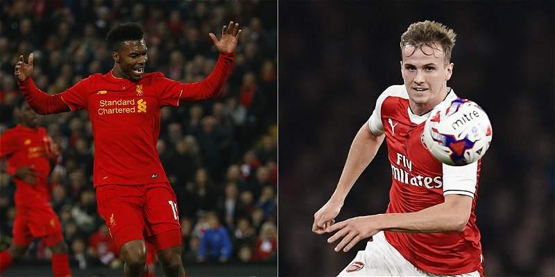 Arsenal y Liverpool ganaron y siguen en carrera en la Copa de la Liga