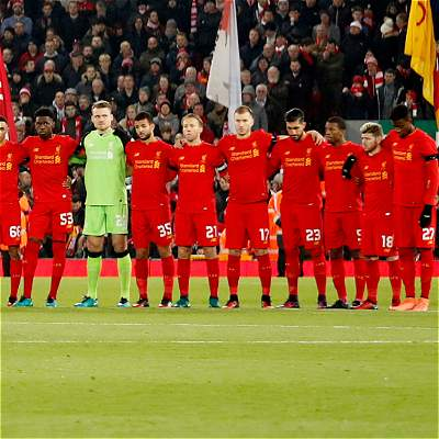 Liverpool minuto de silencio Chapecoense