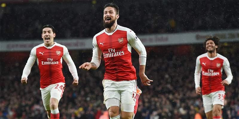 Arsenal no tuvo complicaciones para derrotar 2-0 al Crystal Palace