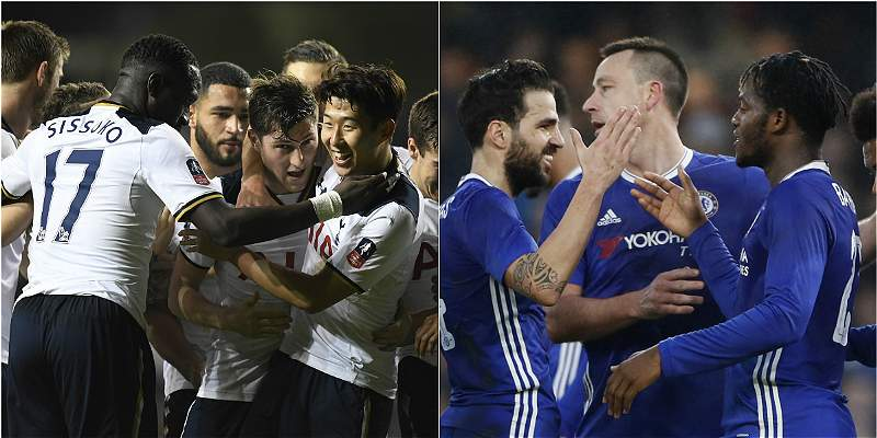 Tottenham y Chelsea