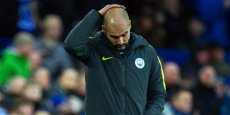 Everton pasó por encima del Manchester City, de Guardiola