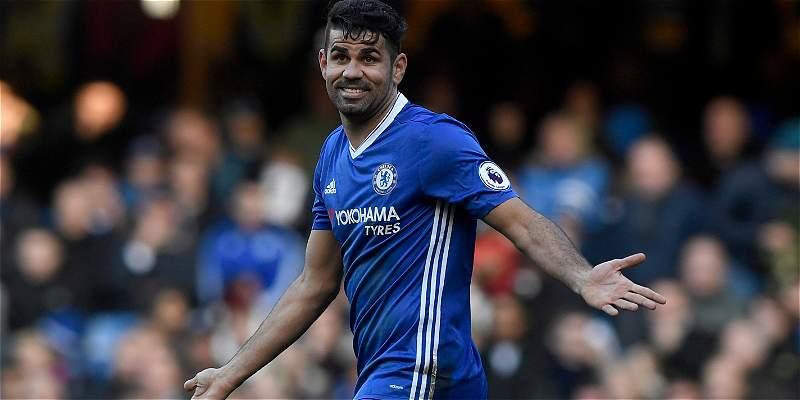 Diego Costa volvió a entrenarse con todos sus compañeros en Chelsea