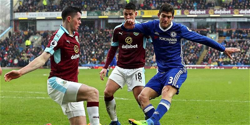 Chelsea sumó su segundo empate consecutivo: 1-1 frente al Burnley