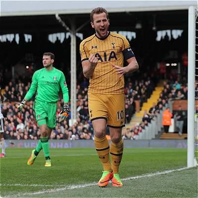 Harry Kane, goleador: marcó triplete en victoria de Tottenham a Fulham