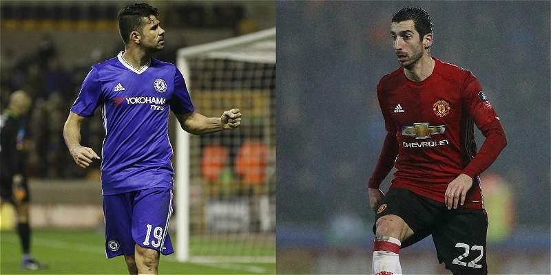 Chelsea y Manchester United se enfrentarán en cuartos de la Copa FA