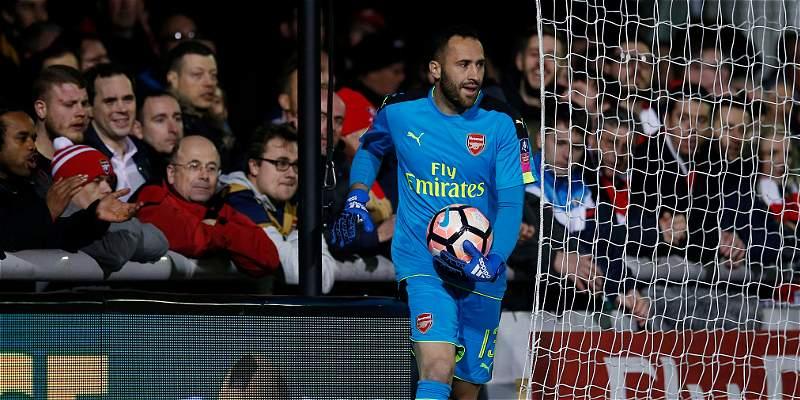 Ospina atajó en la victoria 0-2 de Arsenal sobre Sutton por Copa FA
