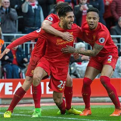 Liverpool reaccionó y le remontó al Burnley: 2-1 en la Premier