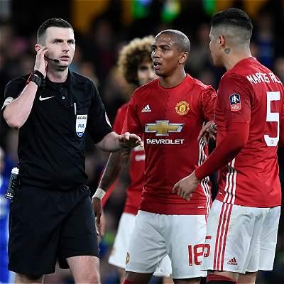 Investigarán a Manchester United por mal comportamiento contra Chelsea