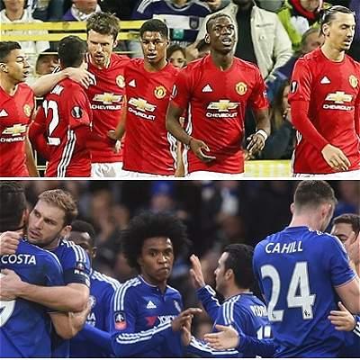 United vs. Chelsea, el partido estrella de la fecha 33 en la Premier