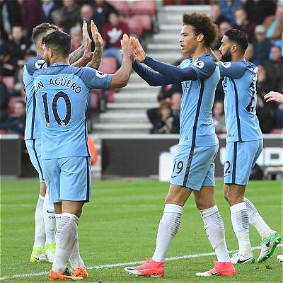 Manchester City sigue en su buen ritmo: venció 0-3 a Southampton