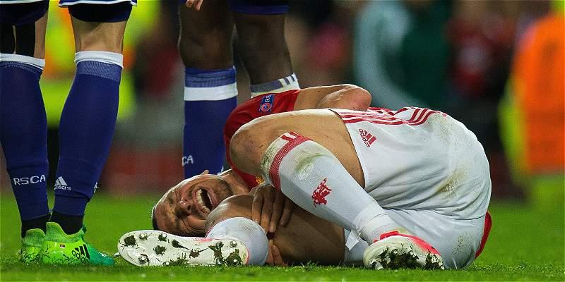 Lesión Zlatan Ibrahimovic