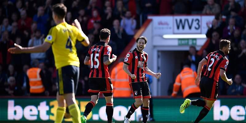 Middlesbrough sigue sin ganar en la Premier: cayó 4-0 con Bournemouth