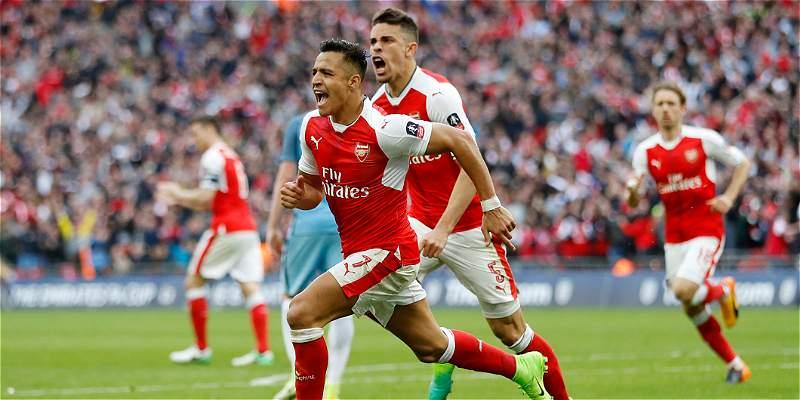 Arsenal, el otro clasificado a la final de la FA Cup: ganó 2-1 al City