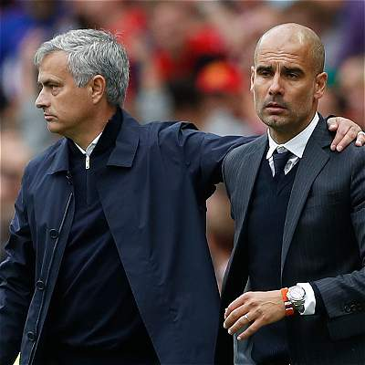 Pep Guardiola José Mourinho