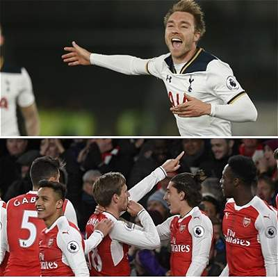 Tottenham y Arsenal