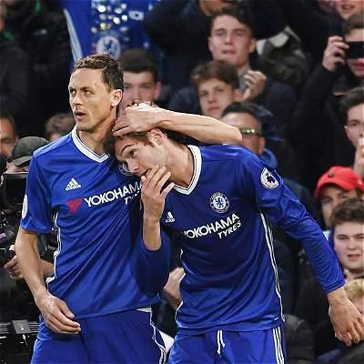 Chelsea superó 3-0 a Middlesbrough y acaricia el título de la Premier