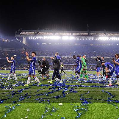 Chelsea celebró título de Premier con triunfo: venció 4-3 a Watford