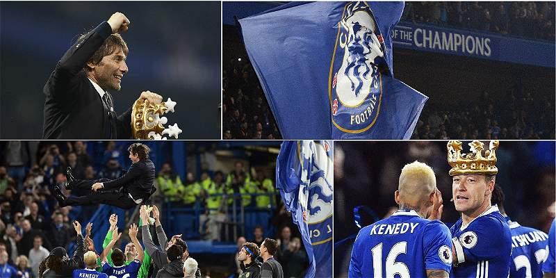 En imágenes: así festejó Chelsea su sexto campeonato en la Liga local