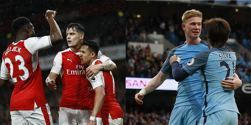 Arsenal y Manchester City