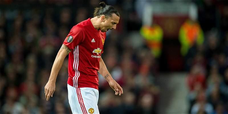 Zlatan Ibrahimovic no continuará en las filas del Manchester United