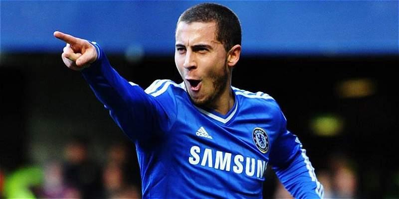 'Estoy muy contento en Chelsea, quiero ganar muchos títulos': Hazard