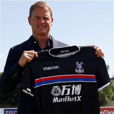 Frank de Boer llega a la Premier: nuevo entrenador del Crystal Palace