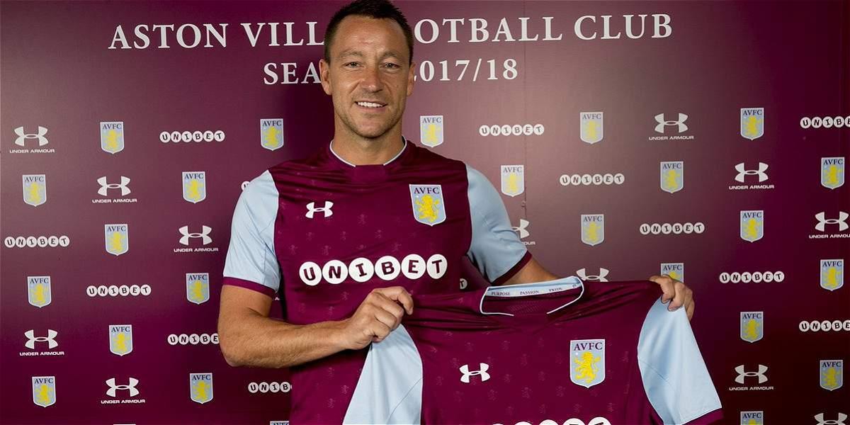 John Terry, el refuerzo de primer nivel para el ascenso de Aston Villa